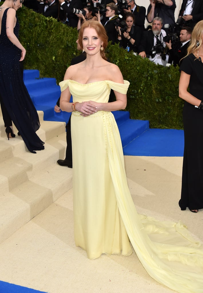 fb32aa0f3357 Jessica Chastain is a frequent star on the red carpet, so her roster of  designer