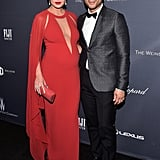 Chrissy Teigen and John Legend at Weinstein Party 2016