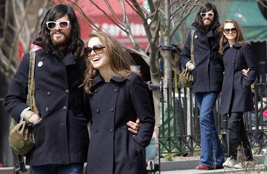 Natalie Portman and Her Hippie Boyfriend Out in NYC