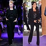 Black Suit at Tom Ford Spring 2020