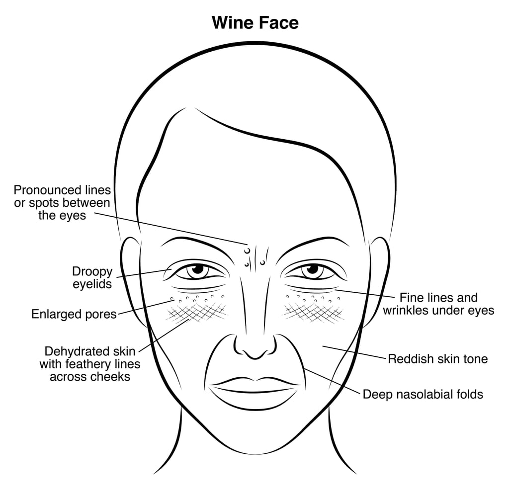 Line Drawing After Effects : Gut health and skin problems popsugar beauty
