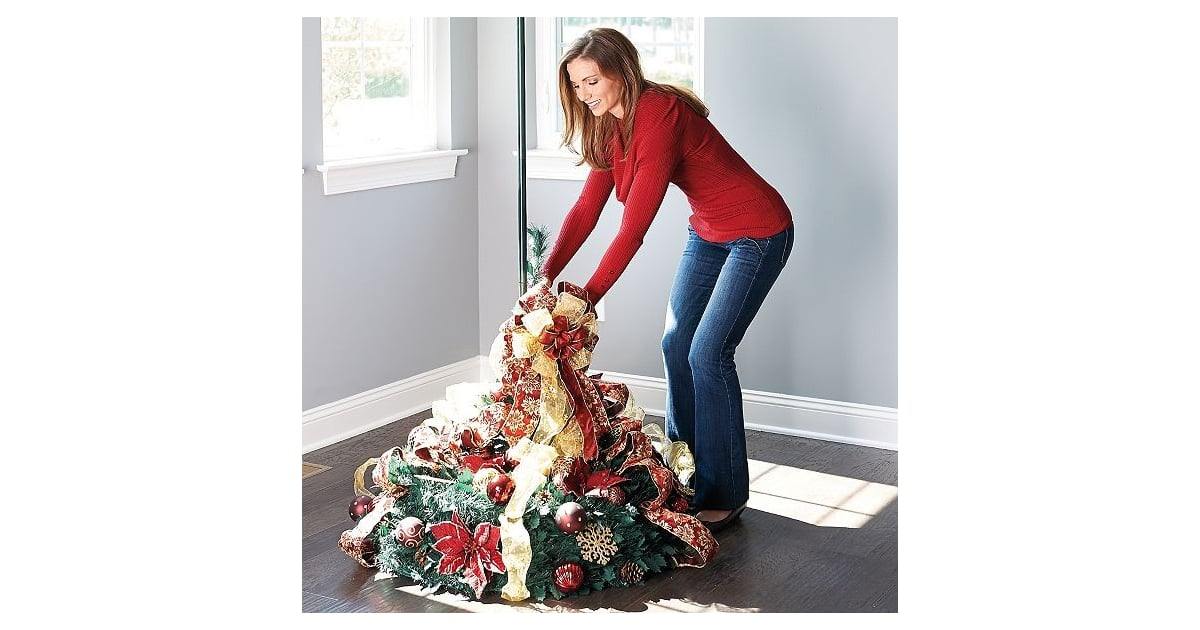 Collapsible Christmas Tree.Collapsible Christmas Tree How To Video Popsugar Family