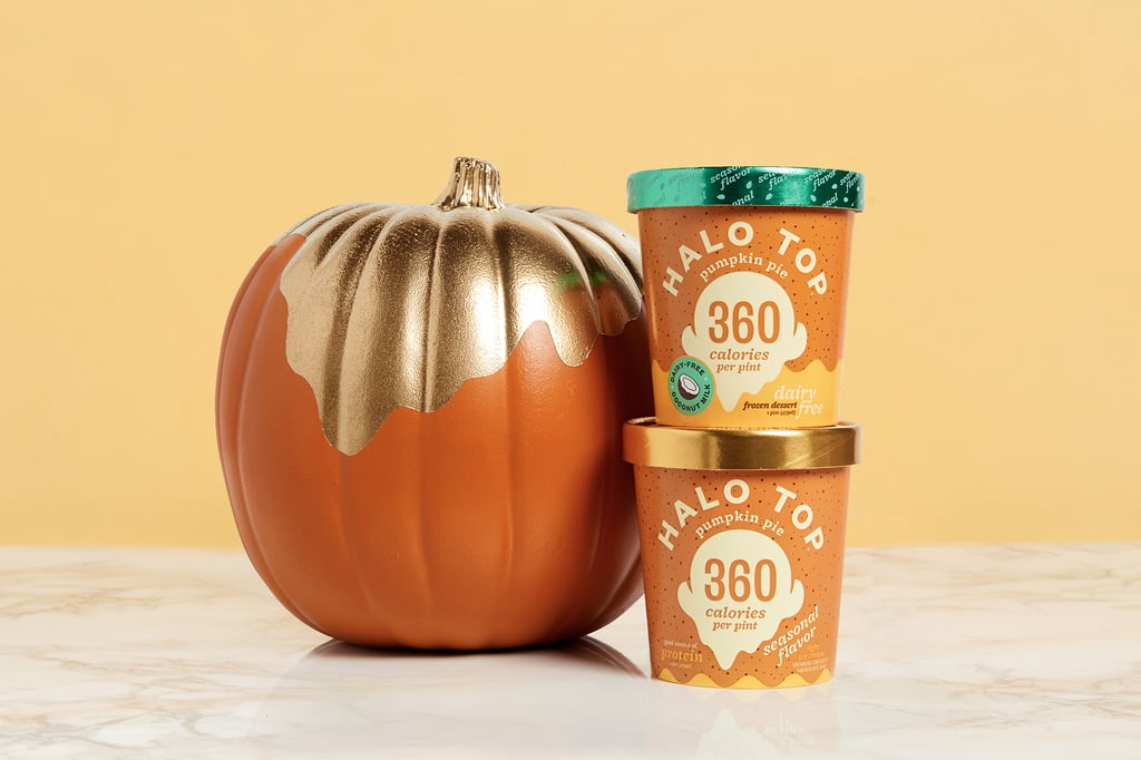 Halo Top Dairy and Vegan Pumpkin Pie Flavors