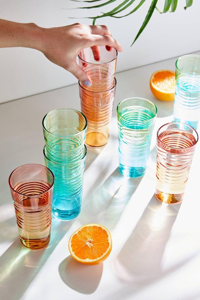 MoMA Ombre Milk Glasses