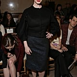 Christina Hendricks at NYFW