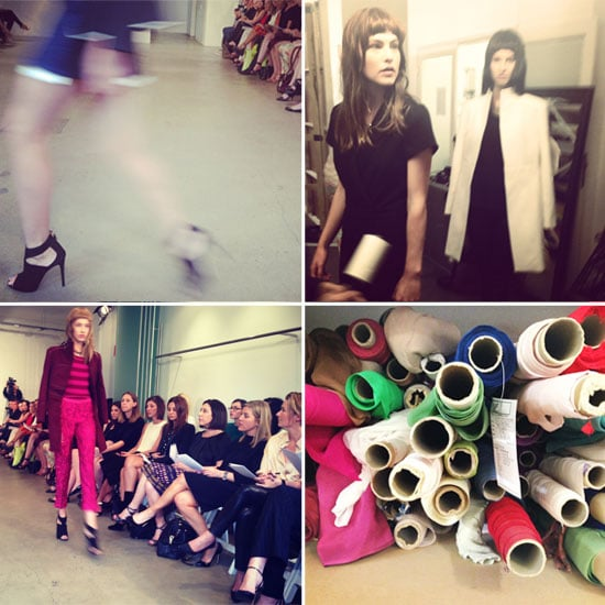 Go Backstage at Lisa Ho's A/W '13 Salon Show