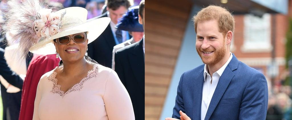 Prince Harry and Oprah Winfrey Mental Health Series