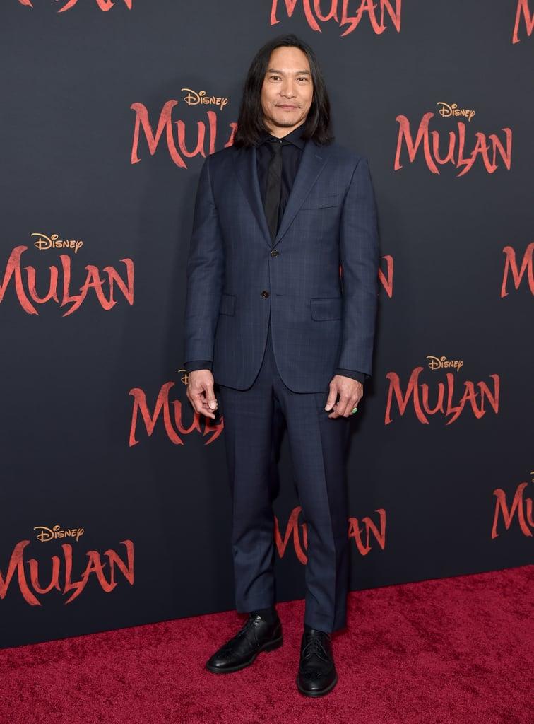 Jason Scott Lee at the World Premiere of Mulan in LA