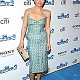 Christina Ricci showed up at the NY premiere of The Smurfs 2, which also took place on Sunday.