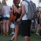 Sarah Hyland shared a sweet moment with her boyfriend, Matt Prokop.