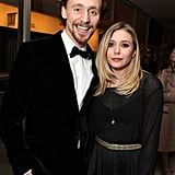 Tom Hiddleston cozied up to Lizzy Olsen.