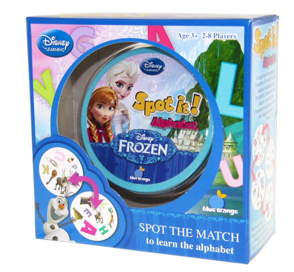 Spot It! Disney Frozen — Alphabet