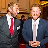 Harry and Chris Robshaw