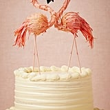 Flaming Flamingo Cake Topper ($40, originally $138)