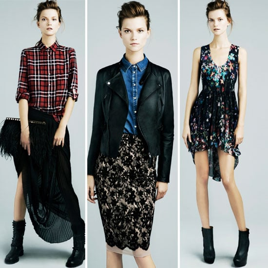 All this Season's Best Trends Star in Zara's November O/S Look Book: Plaid, Lace, Leather, Snakeskin, Paisely and more!