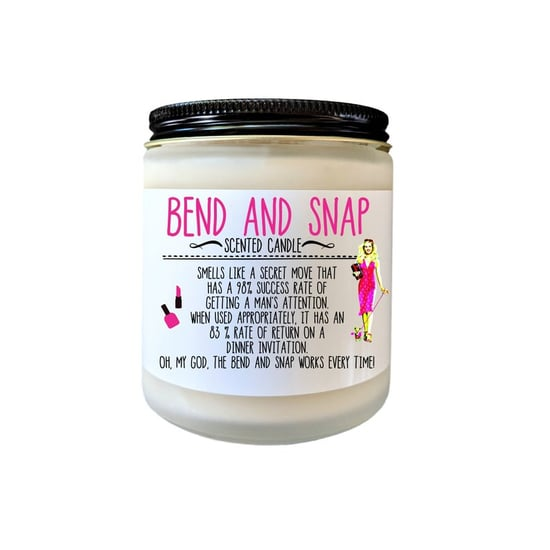 Every Legally Blonde Fan Needs This Bend and Snap Candle