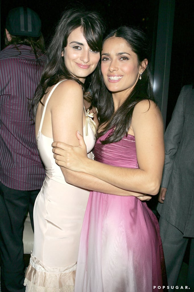 "If you looked up the term ""best friend goals"" in the dictionary, chances are you'd find a photo of Salma Hayek and Penélope Cruz. Not only did they star together in the 2006 film Bandidas, but the ladies have been friends since 2001, and Penélope was even front and center when Salma wed Francois-Henri Pinault in Italy in 2009. In an interview with Vogue back in 2011, Salma opened up about her best friend and praised her for her accomplishments. ""It is great to see somebody who you think deserves it get everything she has ever dreamed of,"" Salma gushed. ""It's magical. It gives you hope.""  Penélope also spoke about their close bond and the hilarious nicknames they have for each other in an interview with Allure magazine in 2014. ""She's one of my best friends,"" she said. ""We call each other huevos [eggs]. It was because when we were working together, we didn't have children yet, so we used to sleep much more than now. So it was a way to call each other lazy."" Something tells us that Salma and Penélope are far from lazy.      Related:                                                                                                           Penélope Cruz and Javier Bardem's Sweetest Pictures Together"