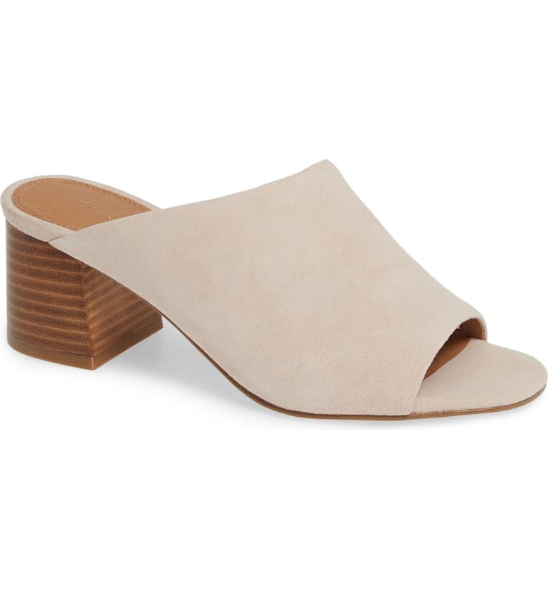 Halogen Faye Asymmetrical Slide Sandals