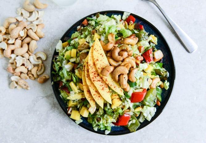 Cashew Chicken Chopped Salad