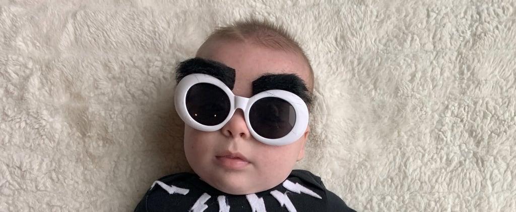 Baby Dressed as David Rose From Schitt's Creek