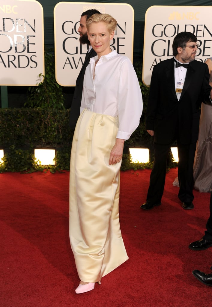 Tilda Swinton in Jil Sander