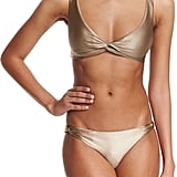 Suboo Twist Gold Bikini Set (£68)