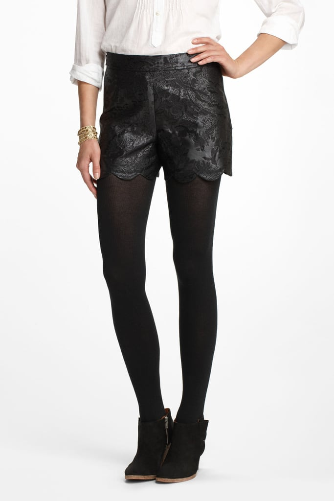 f4942f193 Who said you can t wear shorts in the wintertime  Pair these Leifsdottir  scalloped