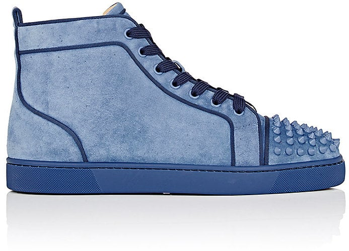 240cf9e9ba9 It doesn't get much cooler than these Christian Louboutin Suede ...