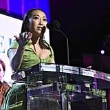 Lulu Wang at the 2020 Spirit Awards
