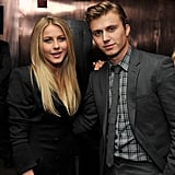 Julianne Hough and Kenny Wormald celebrated the NYC premiere of Footloose.