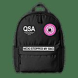 Nicki Stopped My Bag Backpack