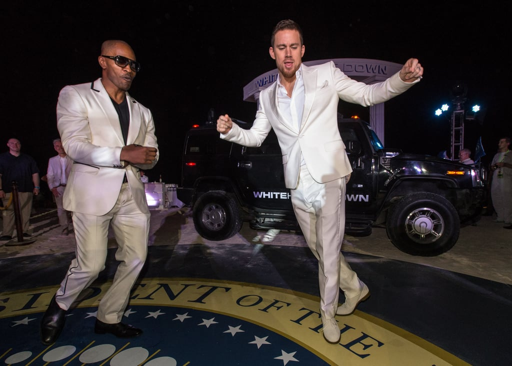 Channing Tatum and Jamie Foxx brought their dance moves to Cancun, Mexico, to celebrate their film White House Down in April.