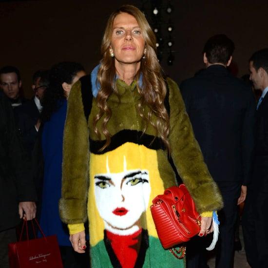 Prada Face Coat Street Style