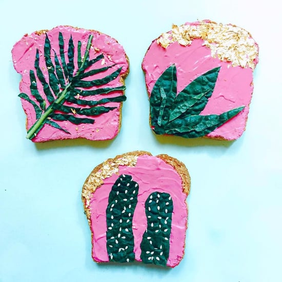 Pretty Kale Toast