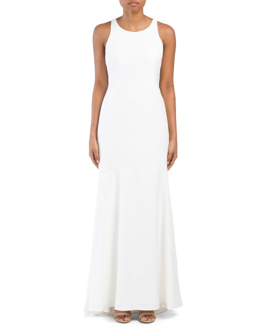 Nicole Miller Long Sleeveless Gown