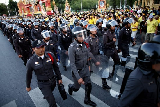 Front Page: Violent Protesters Try to Unseat Thai Government