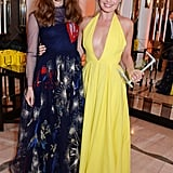 Margot Robbie and Suki Waterhouse posed together at Harper's Bazaar's Women of the Year awards on Tuesday night in London.
