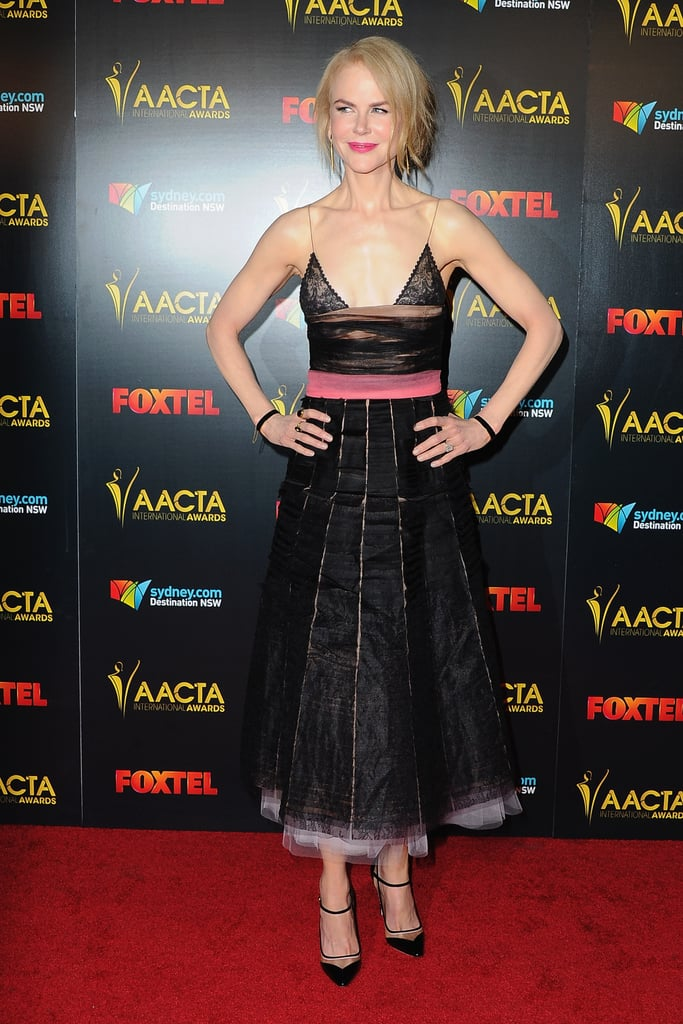 Nicole Kidman's Dress AACTA Awards 2017