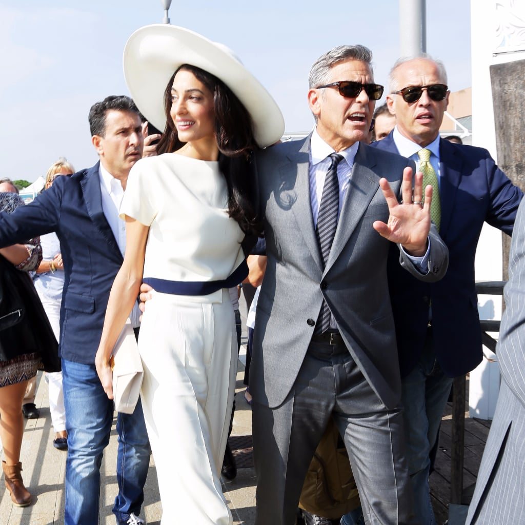 Amal and George Clooney Style