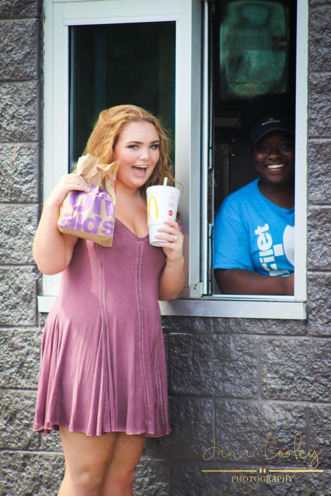 "mcdonald's ""seniors"" restaurant Photo of this high school senior's mcdonald's photo shoot deserves a pulitzer prize."