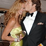 Elle Macpherson and Arpad Busson, 2005