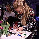 Blake and Robyn Lively at L'Oreal Event February 2017