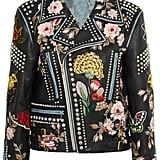Gucci Embellished Leather Biker Jacket (£7,440)