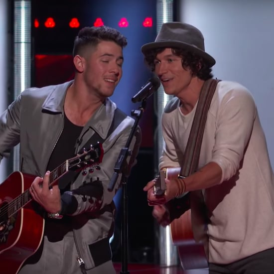 """Nick Jonas Sings """"Lovebug"""" on The Voice With Kevin Farris"""