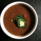 Low-Calorie Black Bean Soup