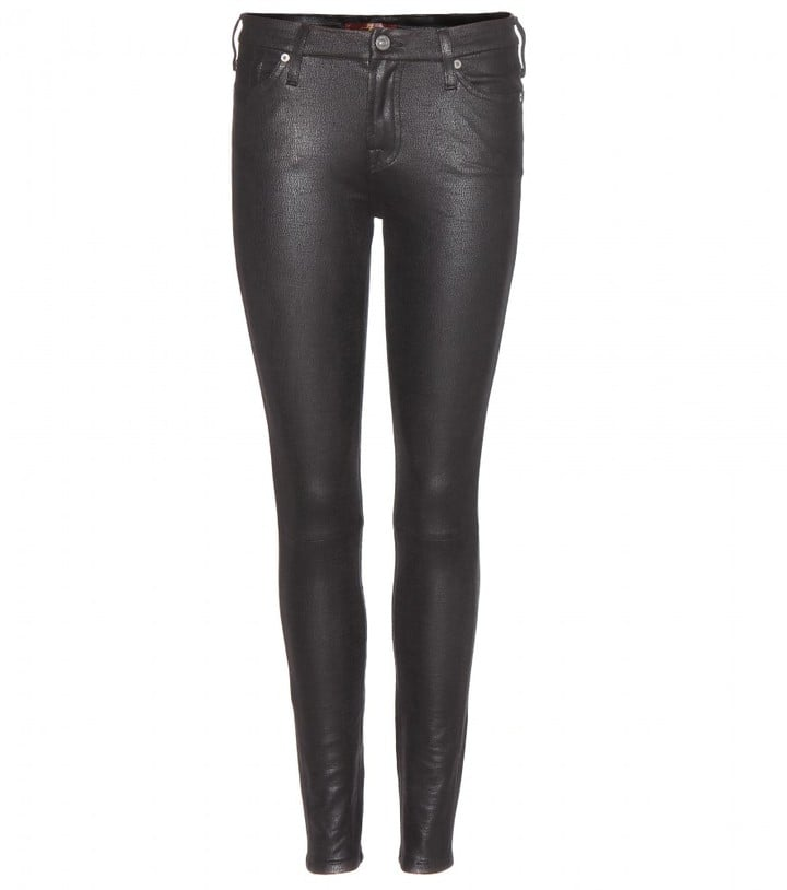 7 For All Mankind Coated Super Skinny Jean ($288)