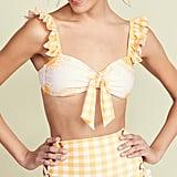 Palmacea Pale Sunflower Bikini Top and Bottom
