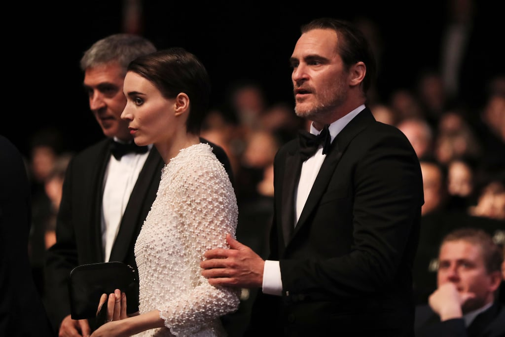 Joaquin Phoenix and Rooney Mara at Cannes Photos 2017