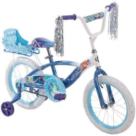 Frozen Blue Bike