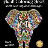 Animal Designs Adult Coloring Book